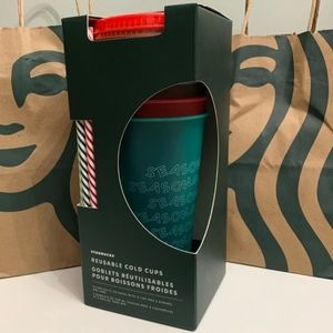 Starbucks 2019 Holiday Cold Cups Reusable 5 Pack